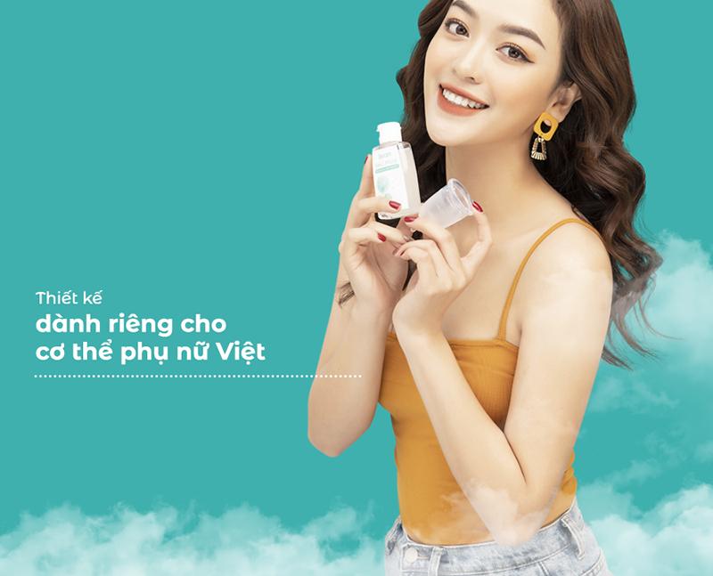 Cốc nguyệt san BeU Cup thiết kế dành riêng cho phụ nữ Việt
