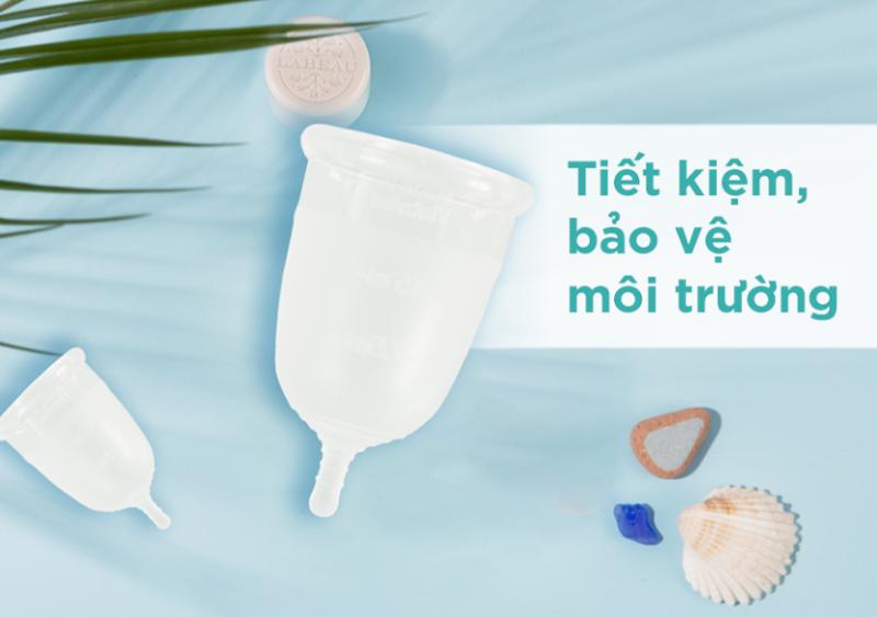 cốc nguyệt san tiết kiệm, bảo vệ môi trường
