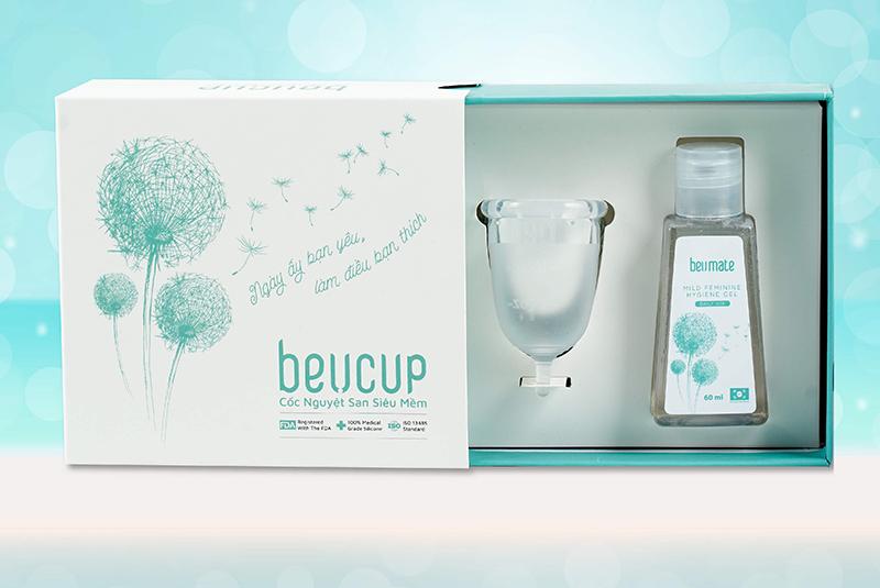 Mua BeUCup tặng dung dịch vệ sinh cốc BeUMate