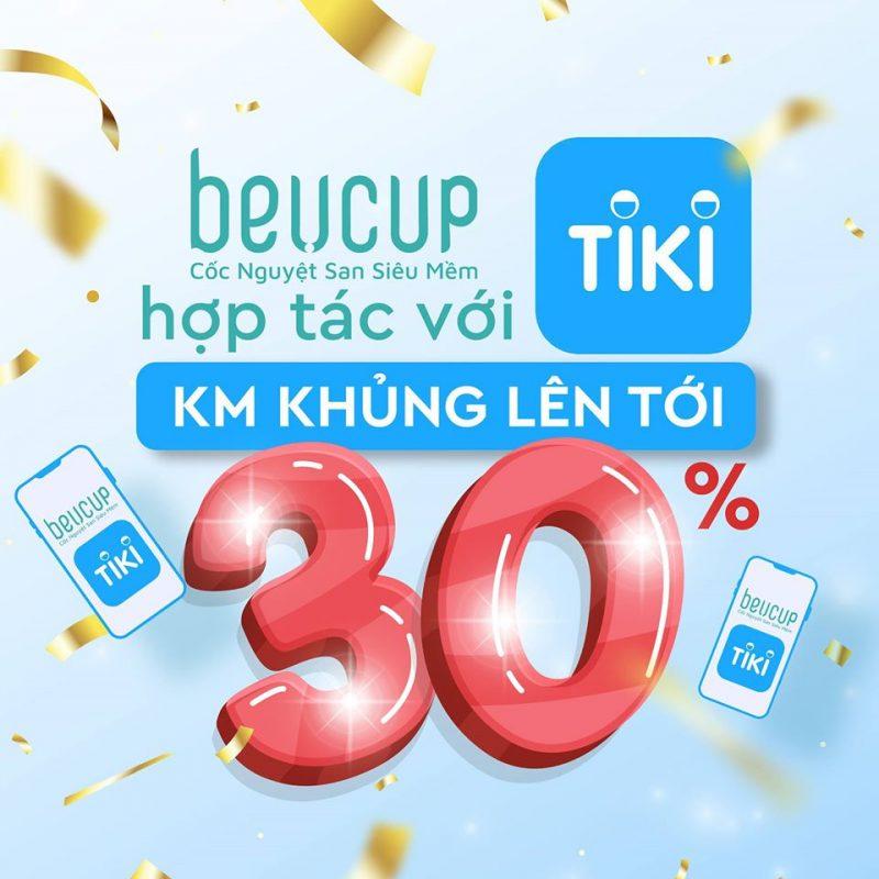 Mua cốc nguyệt san BeU Cup ở Tiki