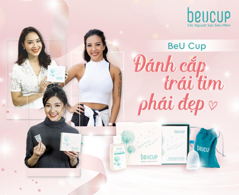 Cốc nguyệt san BeU Cup là sản phẩm cốc nguyệt san đầu tiên được sản xuất tại Việt Nam với quy trình sản xuất cốc nguyệt san khép kín